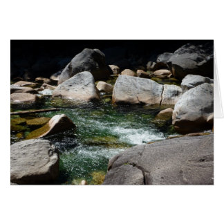 Cool Mountain Stream Card