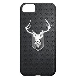 Cool Mounted Deer Head Dark Steel iPhone 5 Case