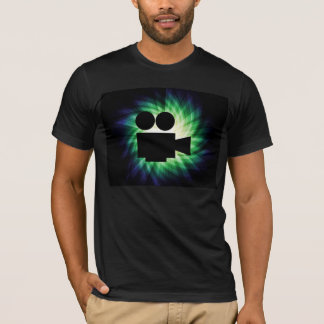 Cool Movie Camera; Video Film T-Shirt