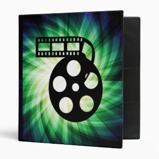 Cool Movie Film Reel Binder