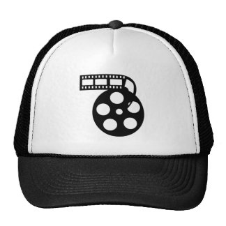 Cool Movie Film Reel Trucker Hat