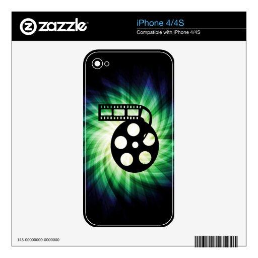 Cool Movie Film Reel Skins For iPhone 4