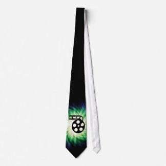 Cool Movie Film Reel Tie