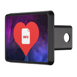Cool Mp3 Picto Trailer Hitch Cover
