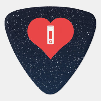 Cool Mp3 Players Pictograph Guitar Pick