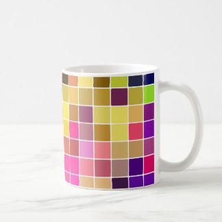 Cool Multicolor Mosaic Coffee Mug