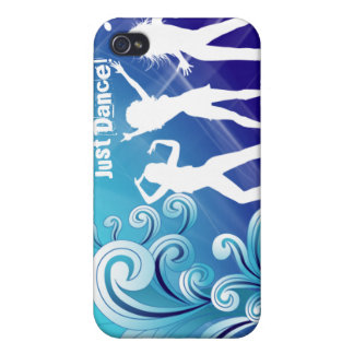 Cool Music Dance Retro iPhone Cover Blue