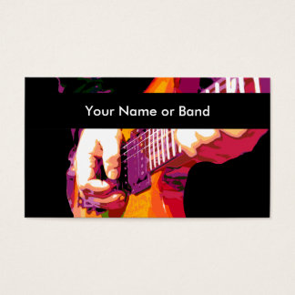 Cool Music Theme Business Card