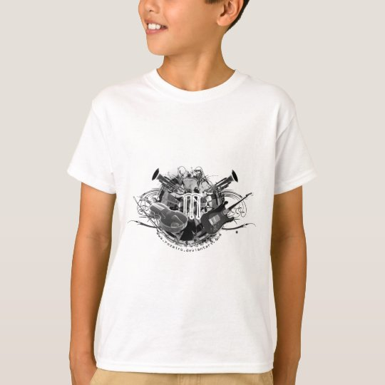 Cool Musical Instruments T-Shirt