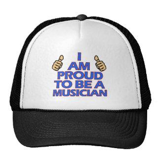 cool musician designs trucker hat