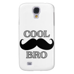 Case-Mate Barely There Samsung Galaxy S4 Case with Cool Mustache Bro design
