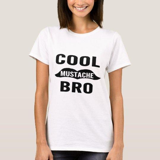 Cool Mustache Bro T-Shirt