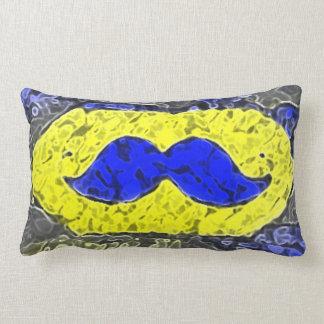Cool Mustache Throw Pillows