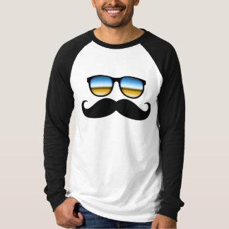 Cool Mustache under Shades T-Shirt