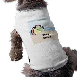 Cool N Colorful Beach Ball Doggie Tee