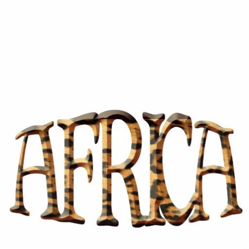 Cool Native African Leopard Spot Sculpted Gift Photo Sculptures