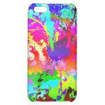 Cool Neon Rainbow Splatter iPhone 5C Cases