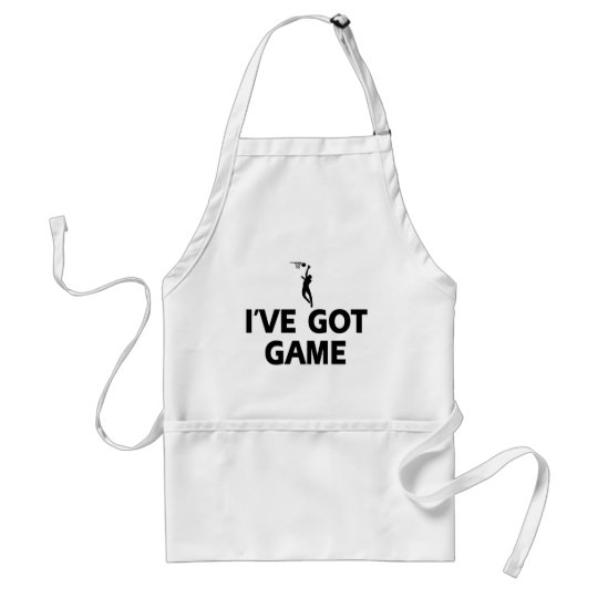 cool netball designs adult apron
