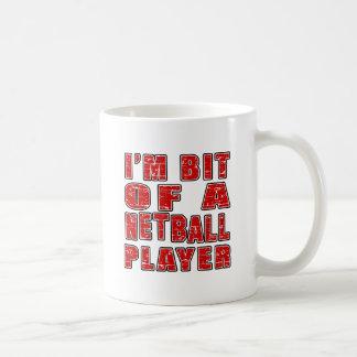 Cool Netball Designs Coffee Mugs