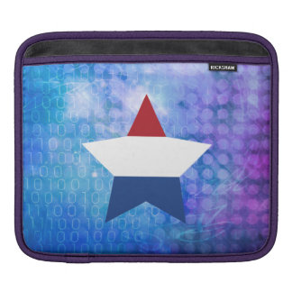 Cool Netherlands Flag Star Sleeve For iPads