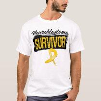 Cool Neuroblastoma Cancer Survivor T-Shirt