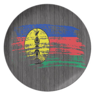 Cool New Caledonian flag design Plates