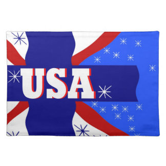 Cool New USA Placemat Made in America Gift