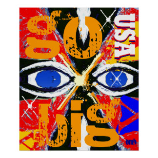 Cool New USA Sports Art Go Big Poster
