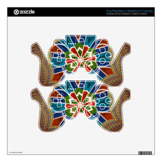 Cool Nice Lovely Edgy Trendy Graphic Pattern PS3 Controller Decal