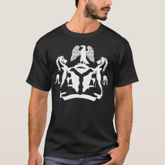 Cool Nigerian Coat of Arms design T-Shirt
