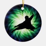 Cool Ninja Christmas Tree Ornament