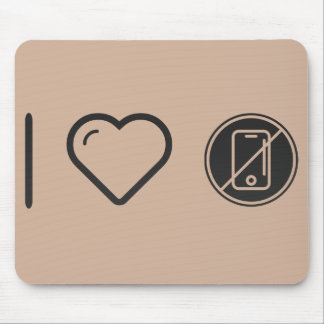Cool No Phones Mouse Pad