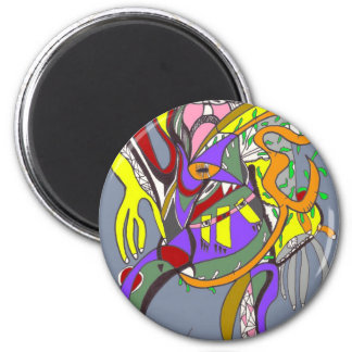Cool Not 2 Inch Round Magnet