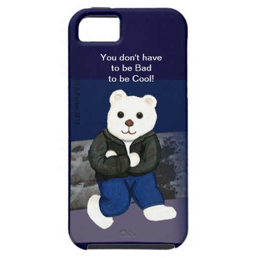 Cool not Bad Bear IPhone Case iPhone 5 Case