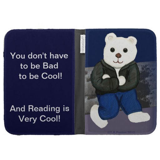 Cool not Bad Bear Kindle Case