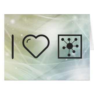 Cool Nuclear Reactors Large Greeting Card