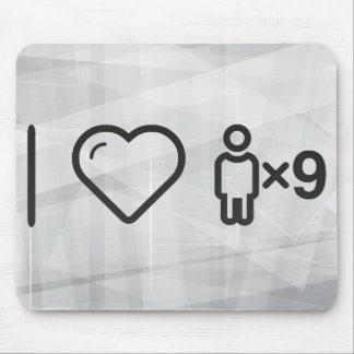 Cool Number Nine Mouse Pad