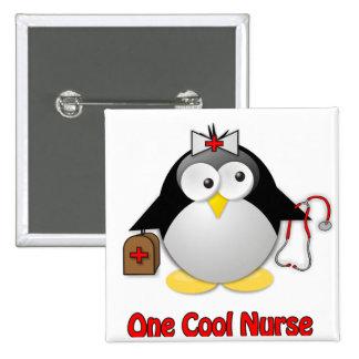 Cool Nurse 2 Inch Square Button