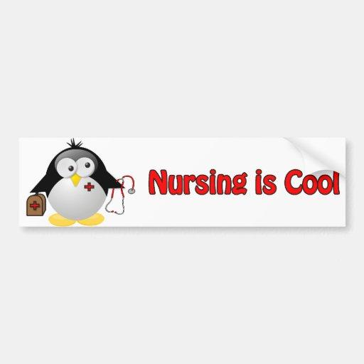 Cool Nurse Car Bumper Sticker