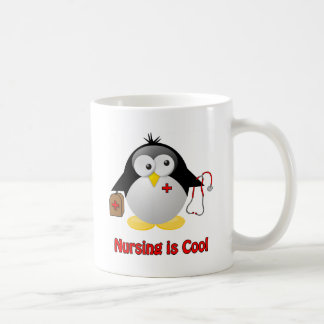 Cool Nurse Classic White Coffee Mug