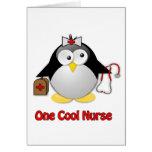 Cool Nurse Greeting Card