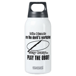 Cool Oboe designs Insulated Water Bottle