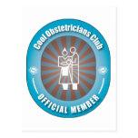 Cool Obstetricians Club Postcard