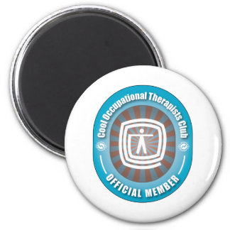 Cool Occupational Therapists Club 2 Inch Round Magnet