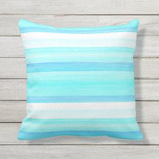 Cute Aqua Throw Pillows : Cute Fun Bright Colorful Pillows - Decorative & Throw Pillows Zazzle