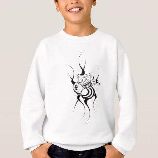 Cool Odd Bee Design Sweatshirt