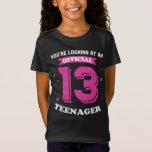 Cool Official Teenager Thir-TEEN Shirt