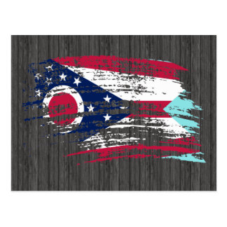 Cool Ohioan flag design Postcard