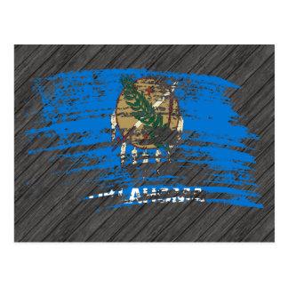 Cool Oklahoman flag design Postcard