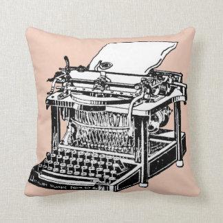 Cool Old Typewriter Pillow